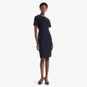 NWT M.M. LaFleur Gayle Ponte Dress Galaxy Blue 6